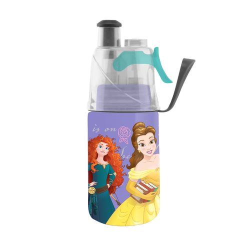 O2 COOL® ArcticSqueeze® Disney Princesses Mist 'N Sip 12 oz. Water Bottle - view number 1
