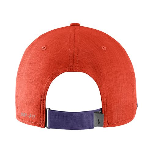 Nike Men's Clemson University AeroBill Sideline Coaches Cap - view number 2
