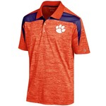 Champion™ Men's Clemson University Synthetic Colorblock Polo Shirt - view number 1