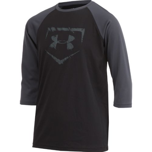 Under Armour Boys' BSBL Diamond 3/4 Sleeve T-shirt - view number 3