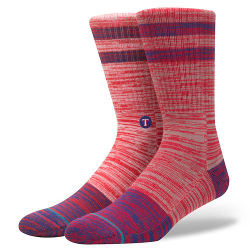 Stance Men's Texas Rangers Greystone Socks