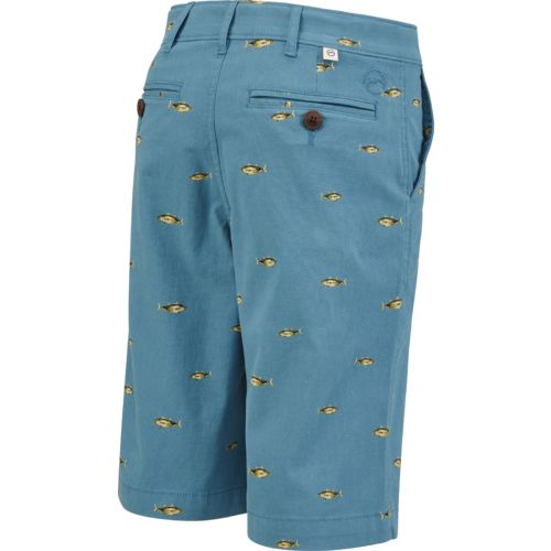 Magellan Outdoors Boys' Summerville Poplin Printed Short - view number 2