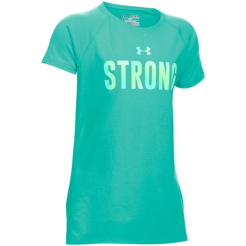 Under Armour Girls' Strong Short Sleeve T-shirt
