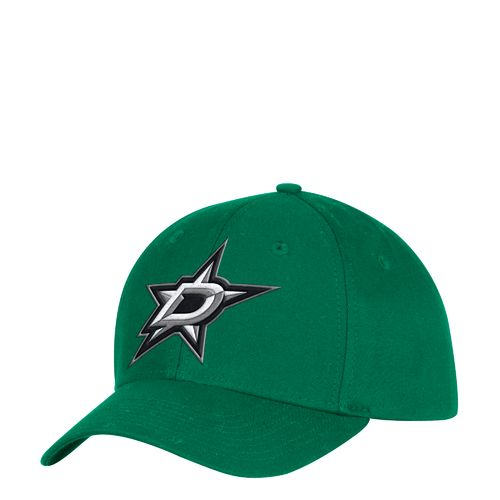adidas Men's Dallas Stars Logo Structured Adjustable Cap