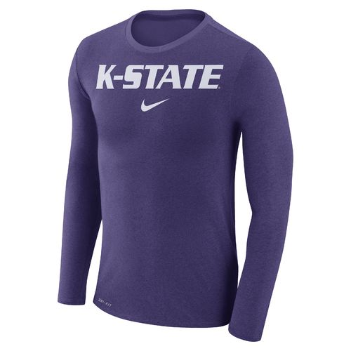 Nike™ Men's Kansas State University Dry Marled Long Sleeve T-shirt