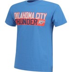 Majestic Men's Oklahoma City Thunder Russell Westbrook 0 Vertical Name and Number T-shirt - view number 3