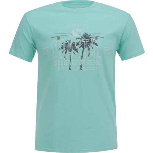 Display product reviews for CCA Men's Coastal Palms T-shirt