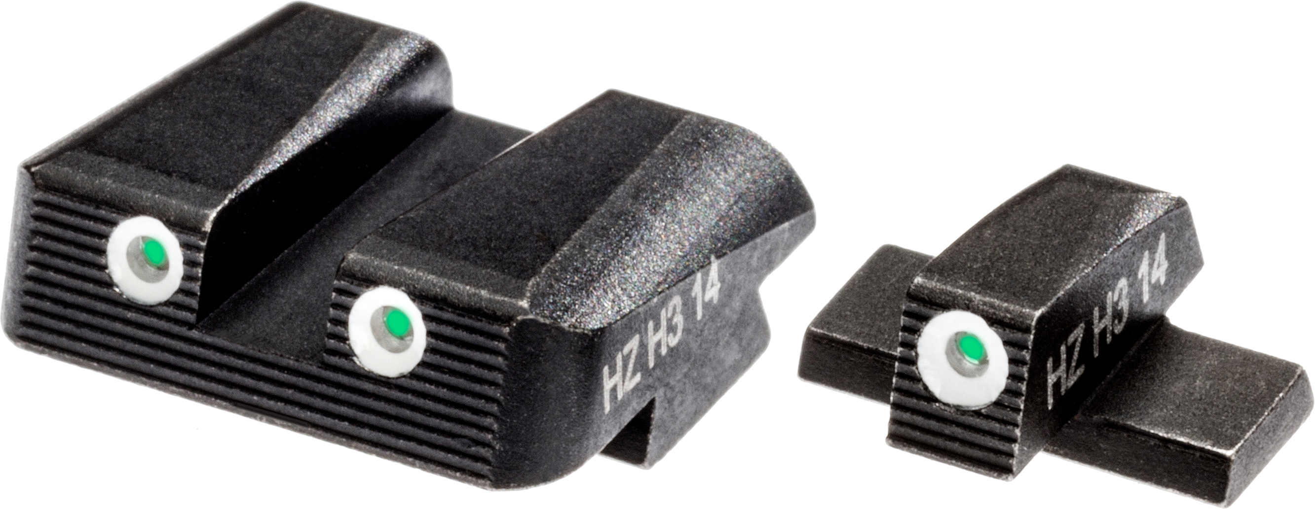 HIVIZ Shooting Systems NITESIGHT Tritium Springfield XD/XDM Front and Rear Sights - view number 1