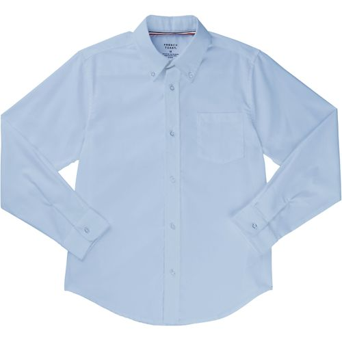 French Toast Boys' Long Sleeve Oxford Shirt