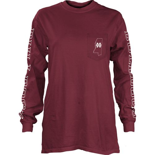 Three Squared Juniors' Mississippi State University Mystic Long Sleeve T-shirt