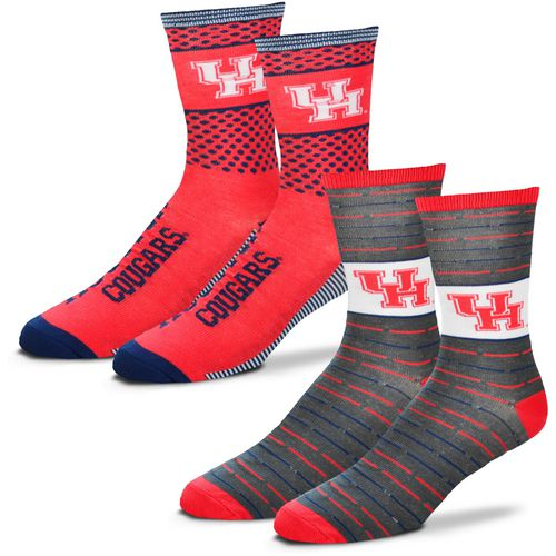 For Bare Feet Men's University of Houston Father's Day Socks