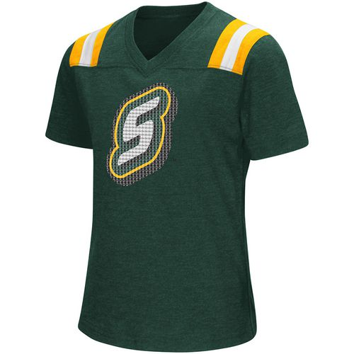 Colosseum Athletics Girls' Southeastern Louisiana University Rugby Short Sleeve T-shirt - view number 1