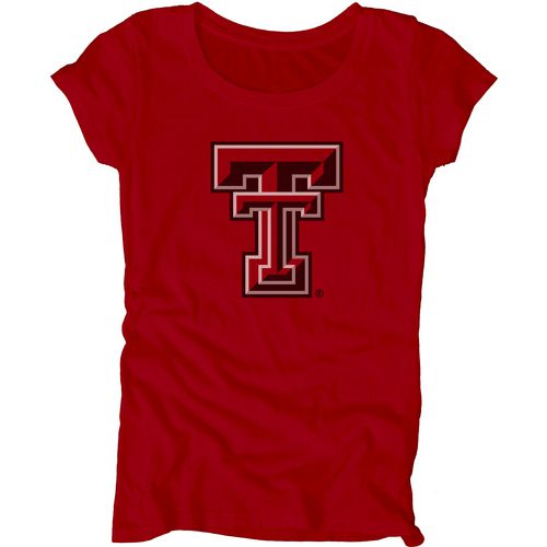 Blue 84 Juniors' Texas Tech University Mascot Soft T-shirt