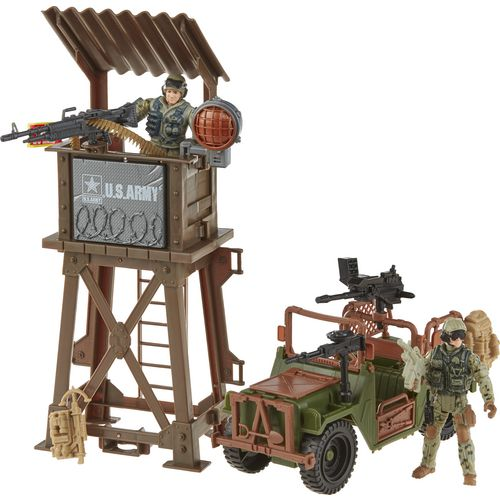Display product reviews for Excite U.S. Army Observation Tower Playset