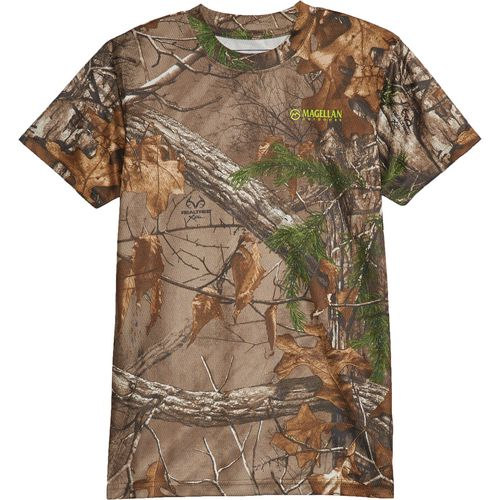 Magellan Outdoors Youth Eagle Pass Short Sleeve Mesh Shirt
