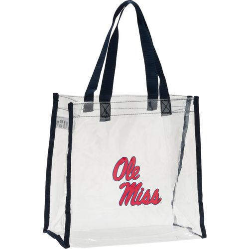 Forever Collectibles University of Mississippi Clear Reusable Bag