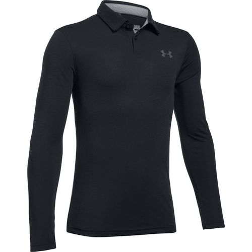 Under Armour Boys' Threadborne Siro Tech Long Sleeve Polo Shirt
