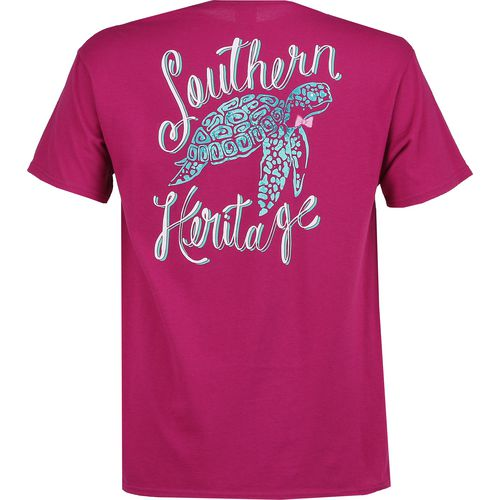 Southern Heritage Women's Sea Turtle Short Sleeve T-shirt