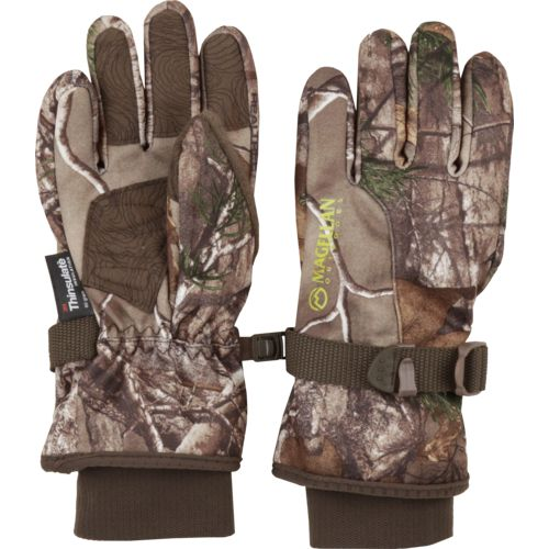 Magellan Outdoors Kids' Ozark Heavyweight Waterproof Camo Hunting Glove