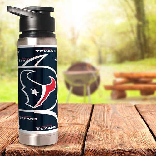 Great American Products Houston Texans 20 oz Metallic Water Bottle - view number 2