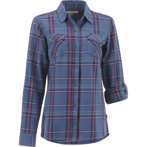 Display product reviews for Magellan Outdoors Women's Fish Gear Cordova Pass Flannel Fishing Shirt