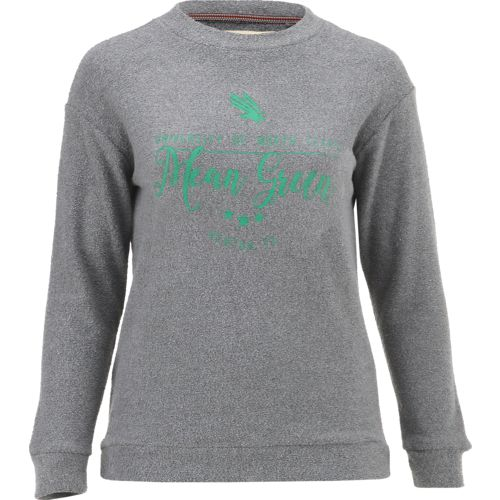 Three Squared Juniors' University of North Texas Finley Comfy Terry Pullover