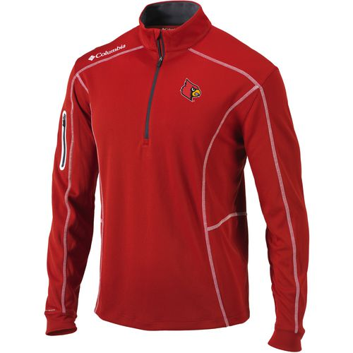 Columbia Sportswear Men's University of Louisville Shotgun 1/4 Zip Pullover