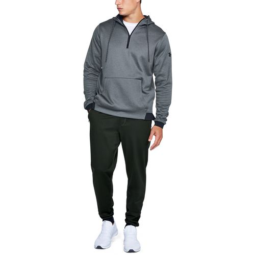 Under Armour Men's Armour Fleece Icon 1/4 Zip Pullover Hoodie - view number 5