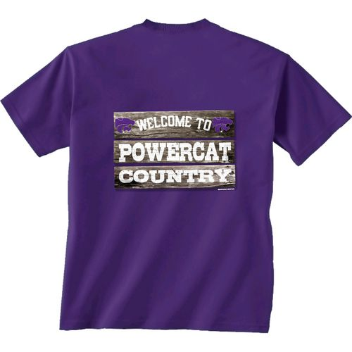 New World Graphics Men's Kansas State University Welcome Sign T-shirt