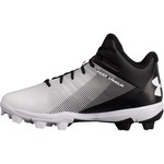 Under Armour Boys' Leadoff Mid RM Jr. Baseball Cleats - view number 1