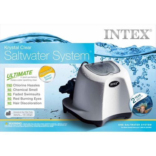 INTEX 120 V Krystal Clear Saltwater Pool System - view number 2