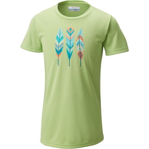 Columbia Sportswear Girls' Trailtastic Short Sleeve T-shirt - view number 1