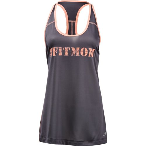 BCG Women's Athletic Fit MOM Graphic Tank Top