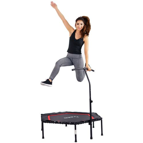 Sunny Health & Fitness Hexagon Rebounder Exercise Trampoline