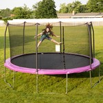 Skywalker Trampolines 15 ft Round Trampoline with Enclosure - view number 2
