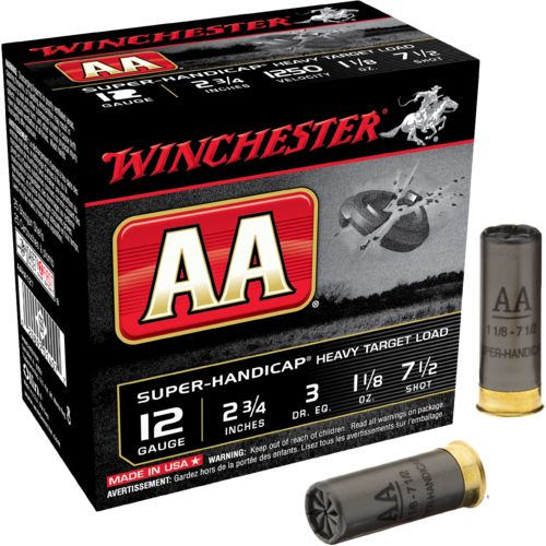 Display product reviews for Winchester AA Super-Handicap Target Load 12 Gauge Shotshells