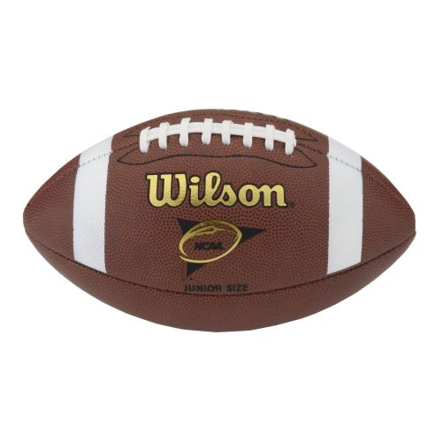 Display product reviews for Wilson Junior Size NCAA Football with Tee