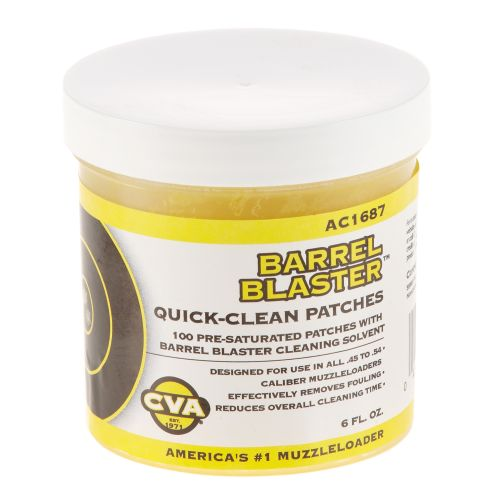 CVA Barrel Blaster Quick Clean Patches 100-Pack - view number 1