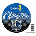 WinCraft Dallas Mavericks 2011 NBA Champions Die-Cut Magnet