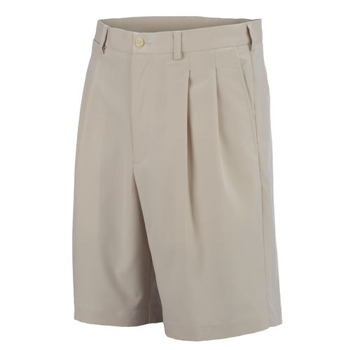 PGA Tour Men's Microfiber Pleat Golf Short
