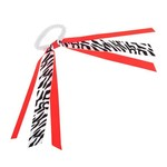 Soffe Zebra Ribbon Scrunch