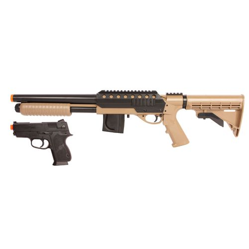 Display product reviews for War Inc. Tactical Spring-Powered Shotgun Kit