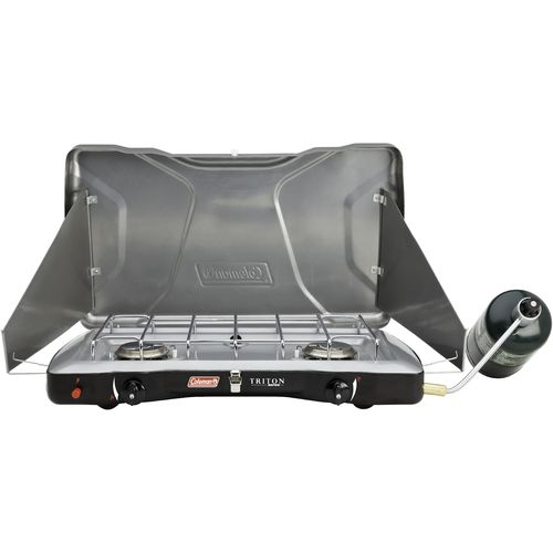 Image for Coleman® PerfectFlow InstaStart 2-Burner Propane Stove from Academy