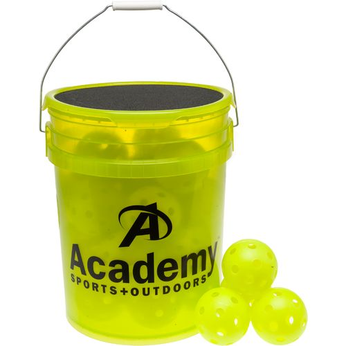 Image for Academy Sports + Outdoors™ Plastic Training Softballs 28-Count Bucket from Academy