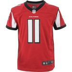 Nike Boys' Atlanta Falcons Julio Jones Team Color Game Day Jersey