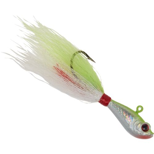Display product reviews for Hurricane 2 oz. 3-D Eye Bucktail Jighead