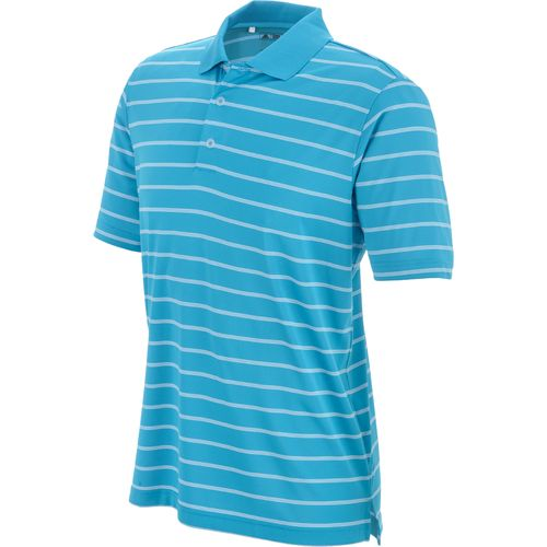 adidas Men s ClimaLite  2-Color Striped Polo Shirt