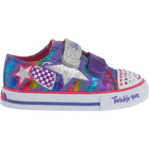 Image for SKECHERS Toddler Girls' Twinkle Toes Shuffle Classy Sassy Shoes from Academy