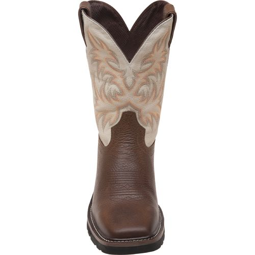 Justin Men's Copper Kettle Cowhide Western Work Boots - view number 3