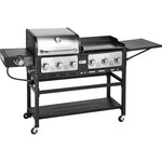 Outdoor Gourmet Pro™ Triton 7-Burner Propane Grill and Griddle Combo